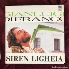 Discos de vinilo: GIANLUIGI DI FRANCO - SIREN LIGHEIA - 12'' MAXISINGLE ZAFIRO 1988. Lote 189199098