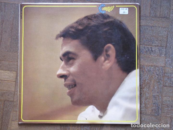 JACQUES BREL. BARCLAY, VEDETTES, 80 173 S. FRANCIA, 1970. (Música - Discos - LP Vinilo - Canción Francesa e Italiana)