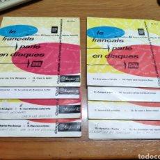 Discos de vinilo: CURSO DE FRANCÉS AFHA LE FRANCAIS PARLE EN DISQUES LOTE 8 EPS. Lote 189205001