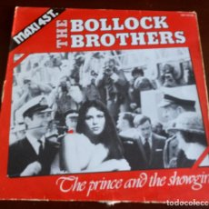 Discos de vinilo: THE BOLLOCK BROTHERS - THE PRINCE AND THE SHOWGIRLS - MAXI SINGLE.12. Lote 189207701