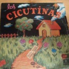 Discos de vinilo: SINGLE ( VINILO)-PROMOCION- DE LAS CICUTINAS AÑOS 70. Lote 189222581