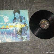 Discos de vinilo: BOB MARLEY WITH MC LYTE - JAMMIN REMIXES - MAXI - UNIVERSAL - ITALIA - LV - . Lote 189224855