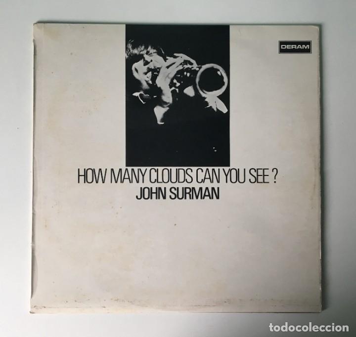 JOHN SURMAN - HOW MANY CLOUDS CAN YOU SEE?, UK 1970 DERAM (Música - Discos - LP Vinilo - Jazz, Jazz-Rock, Blues y R&B)