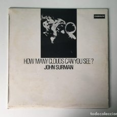 Discos de vinilo: JOHN SURMAN - HOW MANY CLOUDS CAN YOU SEE?, UK 1970 DERAM. Lote 189225431
