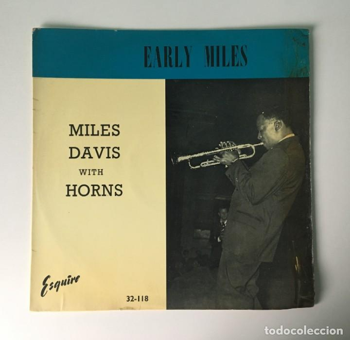 MILES DAVIS - EARLY MILES, UK 1961 ESQUIRE (Música - Discos - LP Vinilo - Jazz, Jazz-Rock, Blues y R&B)
