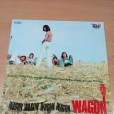 Discos de vinilo: RARO ROCK PROGRESIVO - WAGON - LP WAGON 1971 TOP RECORDS - BUEN ESTADO - VER FOTOS. Lote 189236460