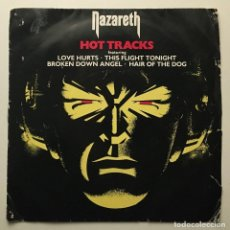 Discos de vinilo: NAZARETH – HOT TRACKS 1977-UK EP NAZ 001. Lote 189246763