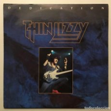 Discos de vinilo: THIN LIZZY ‎– DEDICATION - COLD SWEAT 1991- UK & EEC SINGLE LIZZY 14. Lote 187562380