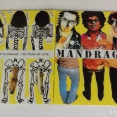 Discos de vinilo: MANDRAGORAS, STRAIGHT JACKET GIRL, TIME TO CHANGE, THE CHAIN OF LOVE. Lote 189252330