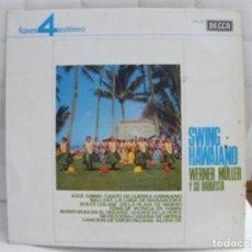 Discos de vinilo: SWING HAWAIANO. WERNER MULLER Y SU ORQUESTA.. Lote 189255495