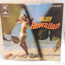 Discos de vinilo: DISCO GOLDEN HAWAIIAN. (HAWAI). Lote 189256098
