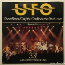 Discos de vinilo: UFO – SHOOT SHOOT 1979-UK SINGLE. Lote 189256463