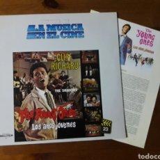Discos de vinilo: THE YOUNG ONES (LOS AÑOS JÓVENES 1961) CLIFF RICHARD AND THE SHADOWS. Lote 189260295