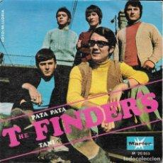 Discos de vinilo: THE FINDER'S PATA PATA MARFER 1968. Lote 189276461
