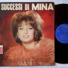 Discos de vinilo: MINA - 20 SUCCESSI DI MINA -LP ITALIANO 1964 - ITALDISC. Lote 189279632