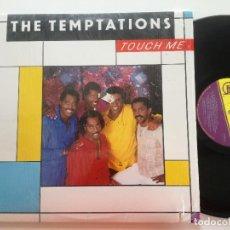 Discos de vinilo: THE TEMPTATIONS - TOUCH ME - LP USA GORDY 1985 // TAMLA MOTOWN MODERN SOUL DISCO. Lote 189281706