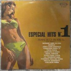 Discos de vinilo: VINILO ESPECIAL HITS N°1. Lote 189283030