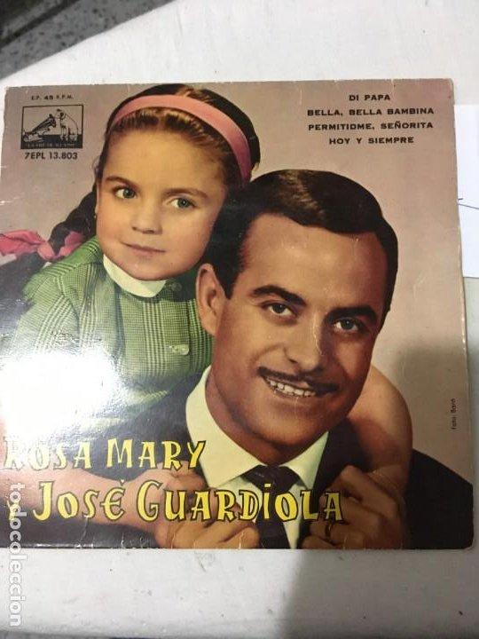 JOSE GUARDIOLA Y ROSA MARI (Música - Discos - Singles Vinilo - Cantautores Españoles)