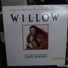 Discos de vinilo: JAMES HORNER – WILLOW (ORIGINAL MOTION PICTURE SOUNDTRACK). Lote 189287755