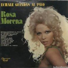 Discos de vinilo: VINILO ROSA MORENA ÉCHALE GUINDAS AL PAVO. Lote 189288231