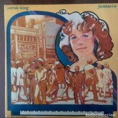Discos de vinilo: CAROLE KING - FANTASÍA. Lote 189291862
