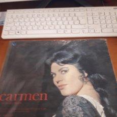 Discos de vinilo: CARMEN. BIZET. ROBERTO BENZI. EDICION PHILIPS FRANCIA. DOBLE PORTADA.. Lote 189294303