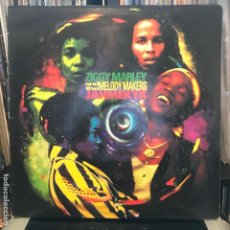 Discos de vinilo: ZIGGY MARLEY AND THE MELODY MAKERS – JAHMEKYA_1991. Lote 189303327