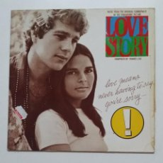 Discos de vinilo: FRANCIS LAI - LOVE STORY - MUSIC FROM THE ORIGINAL SOUNDTRACK - MAXI SINGLE. TDKDA51. Lote 189303700