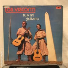 Discos de vinilo: LOS VISCONTI – TU Y MI GUITARRA_BOLIVIA 1979- COMO NUEVO. Lote 189307787