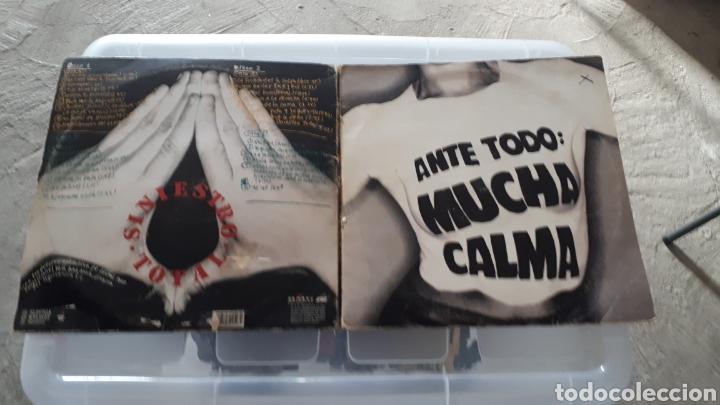 DOBLE LP SINIESTRO TOTAL ANTE TODO MUCHA CALMA (Música - Discos - LP Vinilo - Punk - Hard Core)