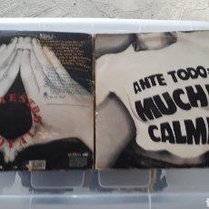 Discos de vinilo: DOBLE LP SINIESTRO TOTAL ANTE TODO MUCHA CALMA. Lote 189319328