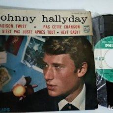 Discos de vinilo: EP-JOHNNY HALLYDAY-MADISON TWIST-FRANCE. Lote 189321732