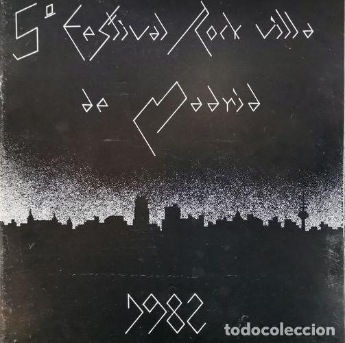 Discos de vinilo: TRITON DERRIBOS ARIAS LA UVI - 5 FESTIVAL ROCK VILLA DE MADRID - LP DE VINILO DE 1982 CON ENCARTE - Foto 3 - 189334511