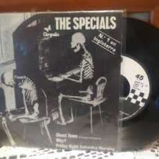 Discos de vinilo: THE SPECIALS GHOST TOWN +2 EP SPAIN 1981 PDELUXE. Lote 189338043