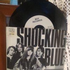Discos de vinilo: THE SHOCKING BLUE VENUS SINGLE SPAIN 1990 PDELUXE. Lote 189338358