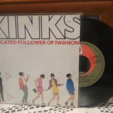 Discos de vinilo: THE KINKS DEDICATED FOLLOWER OF FAS.. EP SPAIN 1986 PDELUXE. Lote 189338988