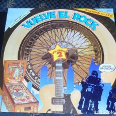 Discos de vinilo: VUELVE EL ROCK -- 24 TEMAS ARTISTAS ORIGINALES -----NEAR MINT ( NM OR M ). Lote 189346785