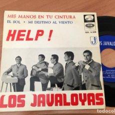 Discos de vinilo: LOS JAVALOYAS (HELP +3) EP ESPAÑA 1965 COVER BEATLES (EPI03). Lote 189349951