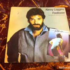 Disques de vinyle: SINGLE / EP. KENNY LOGGINS. FOOTLOOSE. SWEAR YOUR LOVE. 1984. Lote 189351531