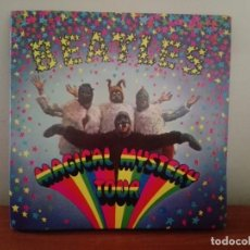 Discos de vinilo: THE BEATLES. MAGICAL MYSTERY TOUR. DOBLE SINGLE DE VINILO CON LIBRETO LETRAS- FOTOS. PORTADA ALEMANA. Lote 189351827