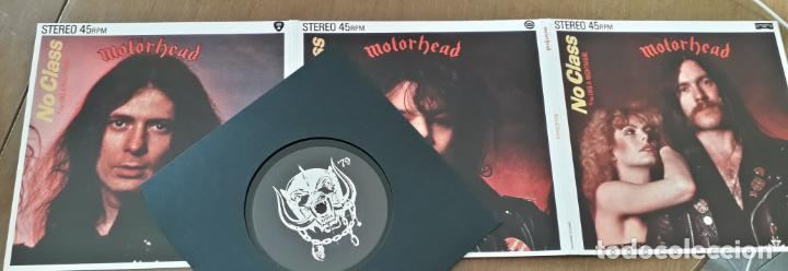 Discos de vinilo: MUSICA SINGLE MOTORHEAD NO CLASS - Foto 4 - 189353415