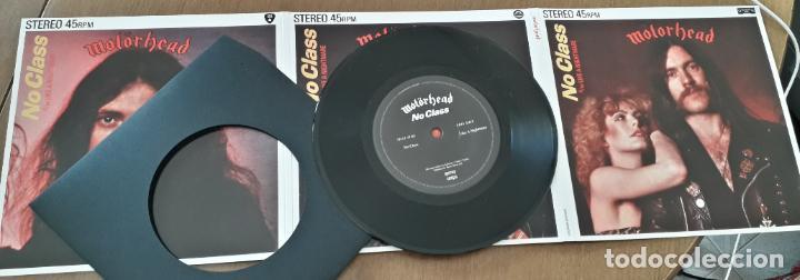 Discos de vinilo: MUSICA SINGLE MOTORHEAD NO CLASS - Foto 5 - 189353415
