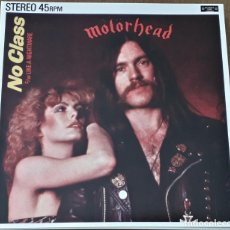 Discos de vinilo: MUSICA SINGLE MOTORHEAD NO CLASS. Lote 189353415