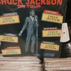 Discos de vinil: LP ORIG USA CHUCK JACKSON ON TOUR. Lote 189354342