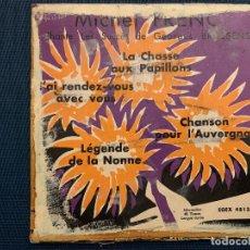 Discos de vinilo: MICHEL FRENC CHANTE LES SUCCÈS DE GEORGES BRASSENS DISQUE 45 TOURS EGEX 4513 BIEM - FRANCE. Lote 189356371