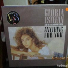 Discos de vinilo: GLORIA ESTEFAN AND MIAMI SOUND MACHINE* – ANYTHING FOR YOU. Lote 189358326