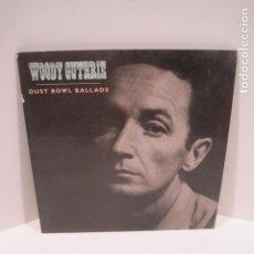 Discos de vinilo: WOODY GUTHRIE.DUST BOWL BALLADS. 14 CANCIONES. VIGILANTE MAN, PRETTY BOY FLOYD. 1988.ROUNDER RECORDS. Lote 189359688