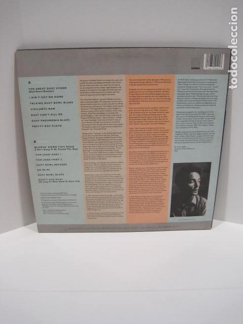 Discos de vinilo: WOODY GUTHRIE.DUST BOWL BALLADS. 14 CANCIONES. VIGILANTE MAN, PRETTY BOY FLOYD. 1988.ROUNDER RECORDS - Foto 2 - 189359688