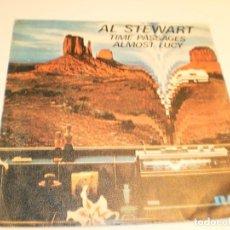 Discos de vinilo: SINGLE AL STEWART. TIME PASSAGES. ALMOST LUCY RCA 1978 SPAIN (PROBADO Y BIEN). Lote 189362256