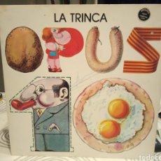 Discos de vinilo: LP - LA TRINCA - OPUS 10 - CON ENCARTE LETRAS -VER DETALLES. Lote 189363153